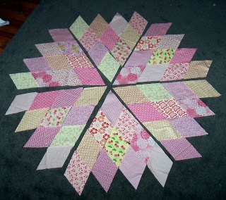 Sewn: Diamond Quilt - A Tutorial