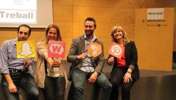 Presentaciones de la Mesa Redonda Snapchat, Womenalia, beBee y Pinterest para tu posicionamiento en el mercado de trabajo