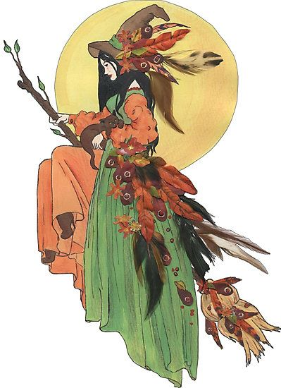 Autumn Witch Photographic Print by redqueenself in 2021