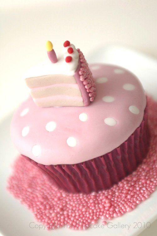 Sweet Cake slice cupcake