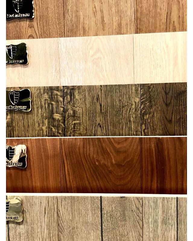 DuChâteaus select grade wood keeps to a smooth even modern surface without all the distressing typically associated with our aged grade wood. This floor grade offers greater uniformity in the woods grain and minimizes variation between planks!