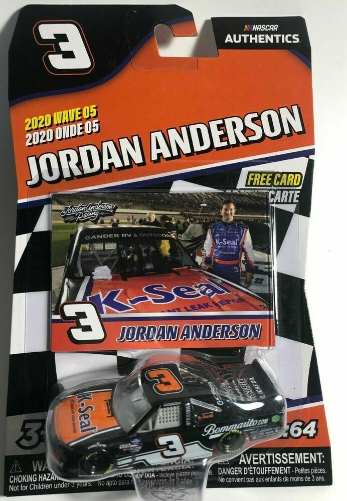 2020 Wave 5 Jordan Anderson K Seal Daytona Truck 1 64 Nascar Authentics Diecast Ebay Nascar Diecast Nascar Diecast