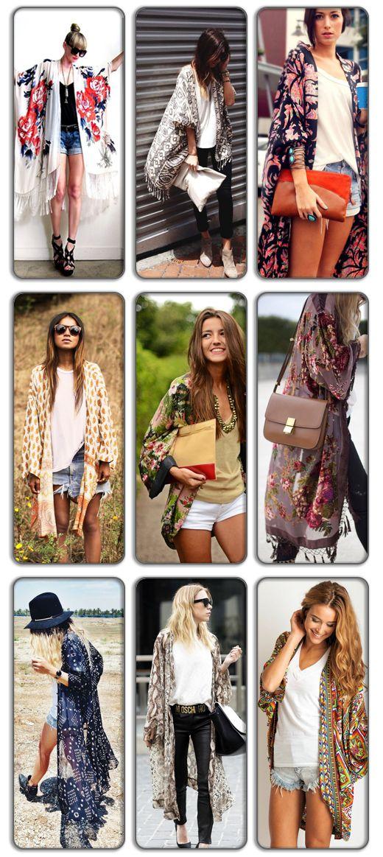 Fashion Trend: Κιμονό / Fashion Trend: Kimonos