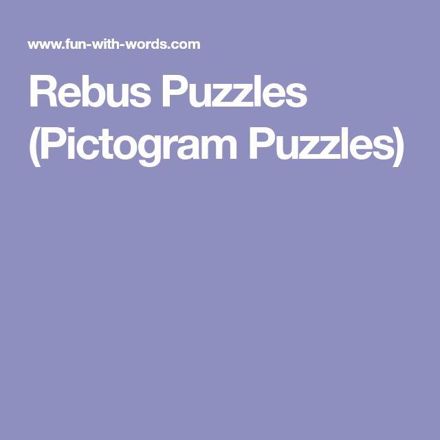 Rebus Puzzles (Pictogram Puzzles)
