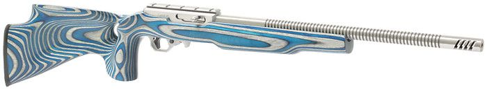 Ruger 10/22  Radial Fluted with Blue TH