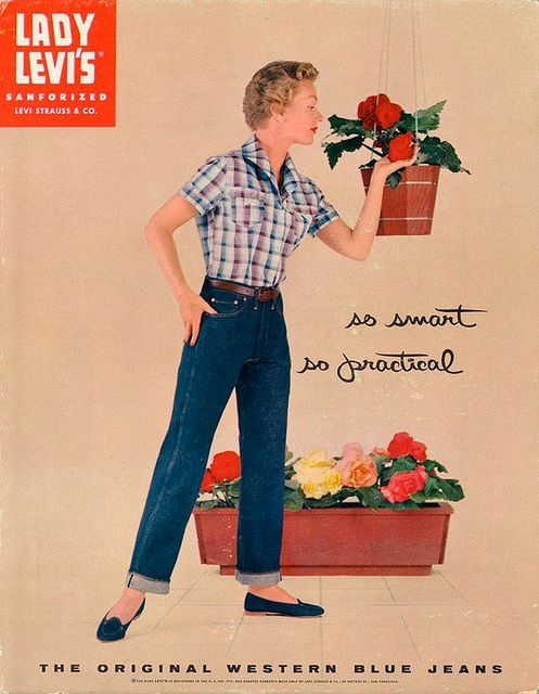 Vintage Levis Ads | Vintage Levi's ad | Flickr - Photo Sharing!