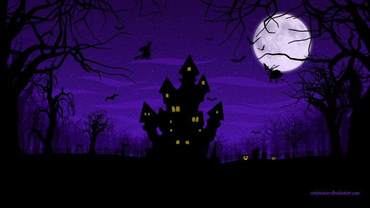 Wallpaper: 'Spooky Halloween' by http://originstory.deviantart.com/art/Spooky-Halloween-Wallpaper-262594018