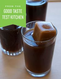 --Vietnamese Iced Coffee and Iced Coffee Cubes
