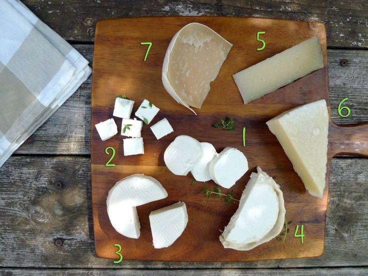 Mag je geen koemelk maar wel geitenmelk of schapenmelk? Dan is een kaasplankje een super nagerecht voor jou.  | http://degezondekok.nl