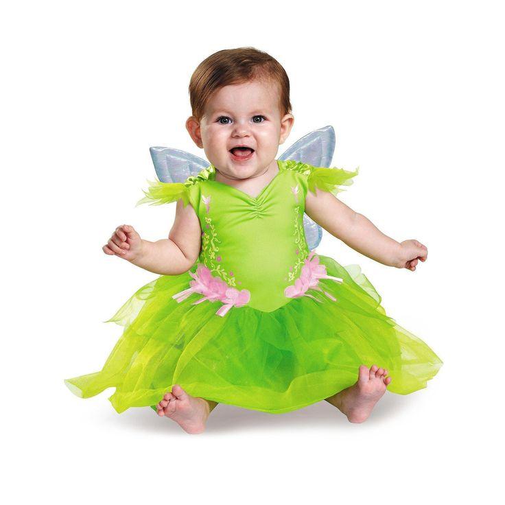 Halloween Disney Tinkerbell Baby Girls' Costume - (6-12 Months), Size: 6-12 M, Green