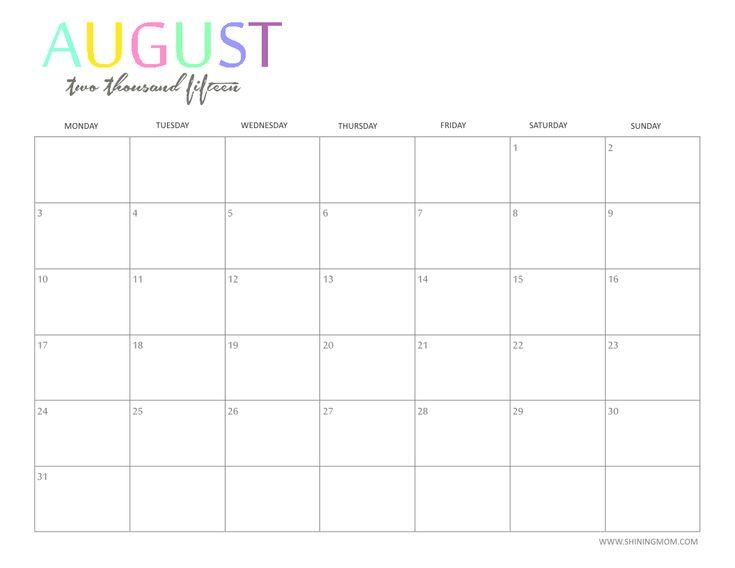Best 25+ Calendar 2015 monthly ideas on Pinterest | Monthly ...