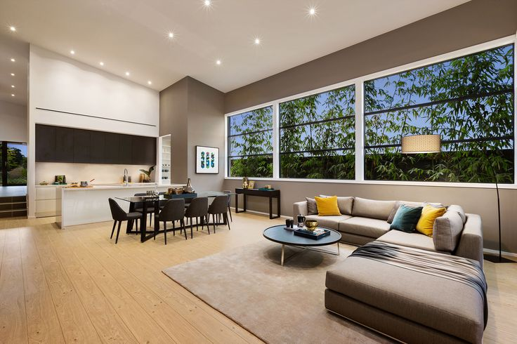 Space and luxury are the defining features of the Sala 6-32. #urbanedgehomes #melbournebuilder #home #homedesign #kitchen #living #interiors #interiordesign #modernhome #alifewithstyle