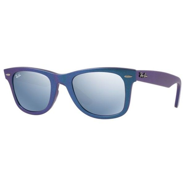 d9ea6b51b ... promo code for ray ban unisex blue sunglasses 150 liked on polyvore  featuring accessories fefa1 aeeaf