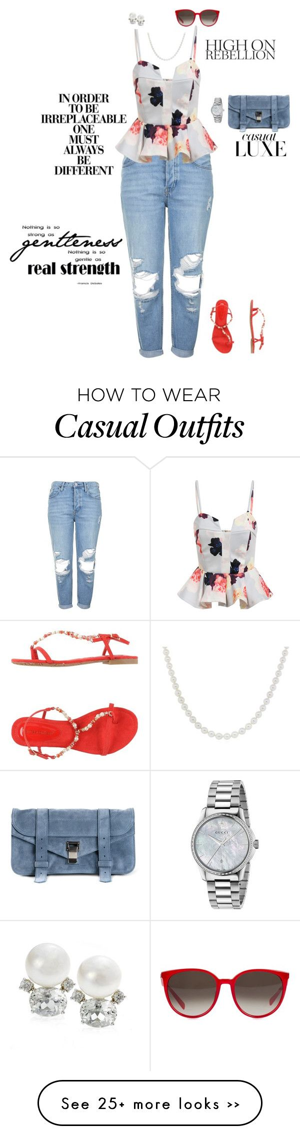 """""""Casual Chic"""" by jenily on Polyvore"""