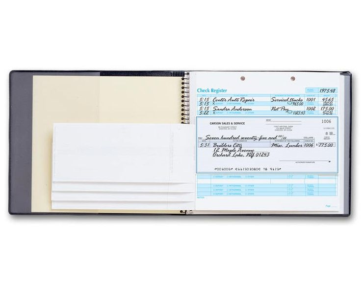 Business Cheque Book Cover : Best the one write manual check system advantage images