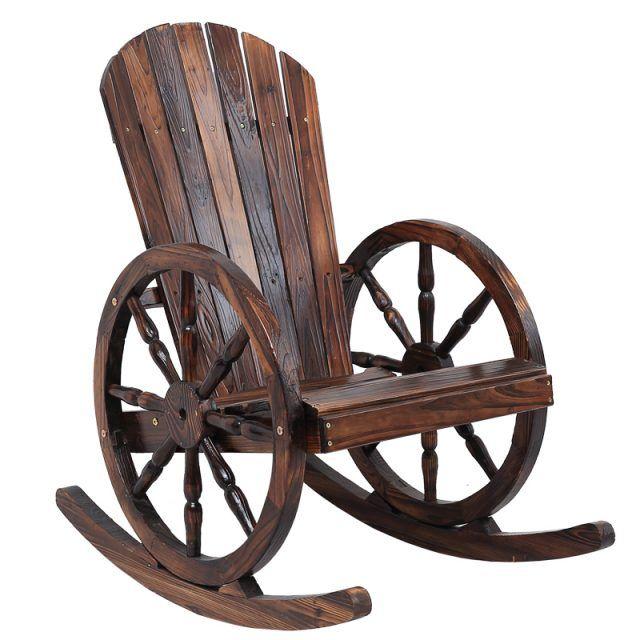 Wagon Wheels Garden Rocking Chair ในปี 2020