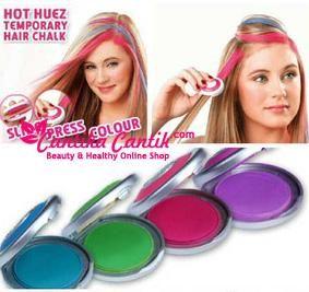 Jual Hot Huez Pewarna Rambut Temporary. Trend gaya rambut terbaru yang memungkinkan Anda untuk langsung mengubah tampilan rambut Anda dengan eye-popping warna! **Selengkapnya: http://c-cantik.me/w9meb **Order Cepat: http://m.me/cantikacantik.id  KONTAK KAMI DI - PIN BBM 2A8FB6B4 - SMS / WA 081220616123 Untuk Fast Response