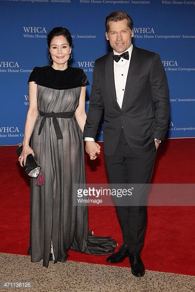 Nukaaka Coster-Waldau at the White House Corredspondence Dinner last night, makeup by Caitlyn Meyer, hair by Francesca Galloway ❤️ #whca #whcd #nukaakacosterwaldau #nikolajcosterwaldau