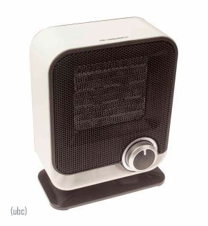 Kampa Diddy Ceramic Heater. Ideal for tents, awnings or around the home. Only 17.99 at Awnings Direct.