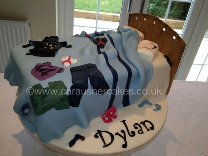Teenager Messy Bed £65 As Shown cakepins.com
