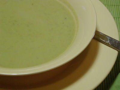 As Minhas Receitas: Sopa Fria de Ervilhas e Iogurte