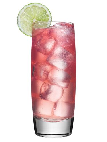 Wild Parrot: soda, cran, & lychee liqueur