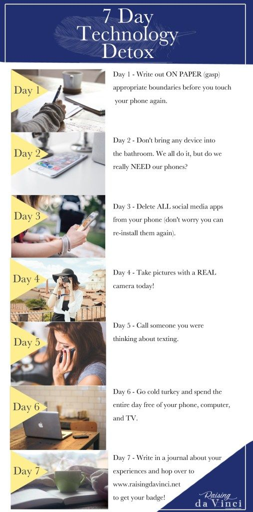 7 Day Technology Detox