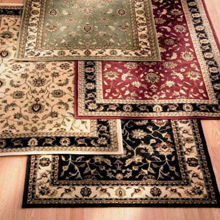 Best Border Floral Low Profile Rugs Stair Treads Rugs Stair Treads Space Saving Storage 400 x 300
