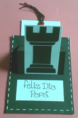 Scrapandome Con Los Recuerdos: Torre de Ajedrez en Paper Piecing
