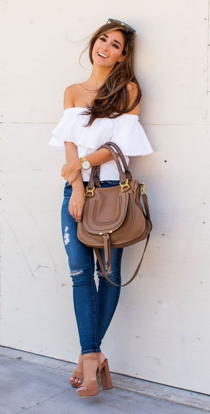 fine 40 Great Summer Outfits to Try http://attirepin.com/2018/02/21/40-great-summer-outfits-try/