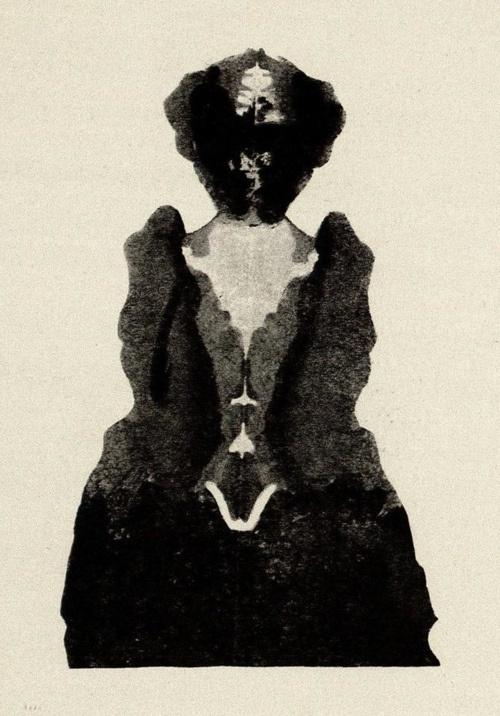 Justinus Kerner | From Kleksographien | 1890