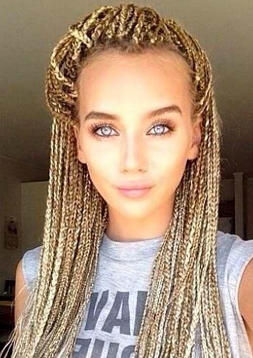 99 Best White Girl Braids Images On Pinterest Braided