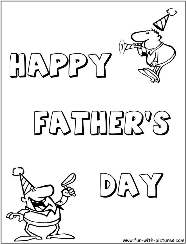 27 best Coloring Holidays Dad images on Pinterest Fathers day