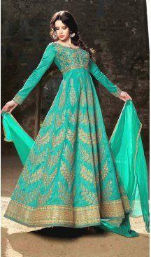 Pakistani Embroidery Work Turquoise Color Silk Salwar Kameez   FH583686071 Follow us @heenastyle #pakistanifashion #weddinggown #sikhwedding #bridal #indianbridal #indianwedding #weddingoftheyear #indianweddinginspiration #weddingfashion #instagood #bridalfashion #salwarkameez #pakistanisalwarkameez #pakistanisuits #pakistanidresses #pakistanidesignersalwarkameez #pakistanilonganarkalichuridar #silkpakistanisalwarkameez #heenastyle