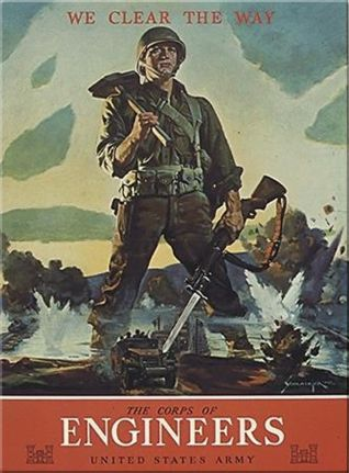 WWII poster for US Army Corps of Engineers.