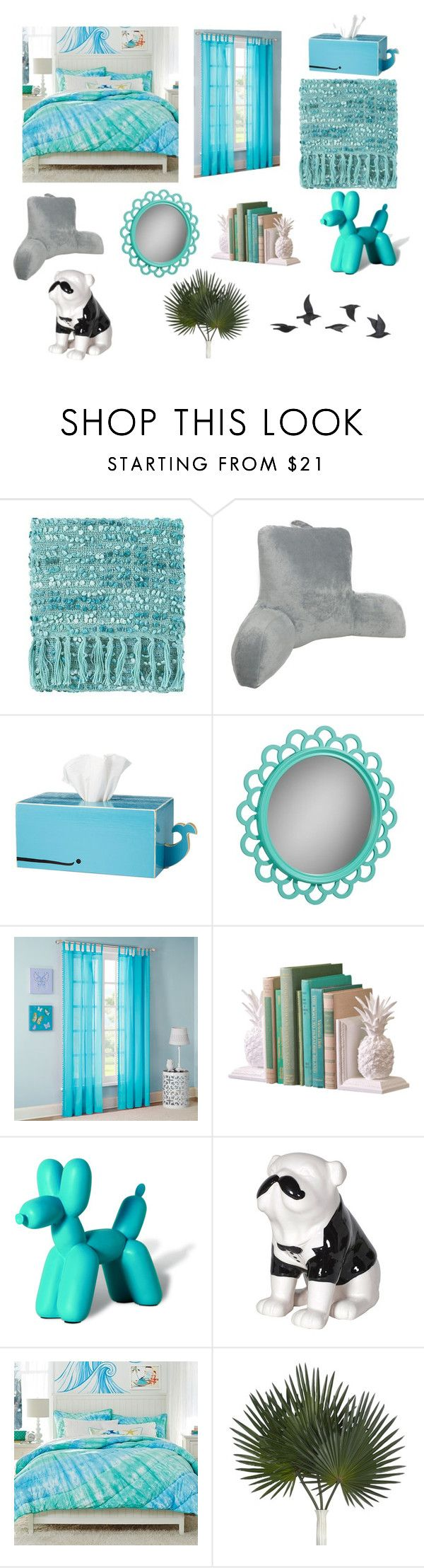 """Bed time"" by mikayla8h ❤ liked on Polyvore featuring interior, interiors, interior design, home, home decor, interior decorating, Elements, PBteen, Mi-Zone and Imm Living"