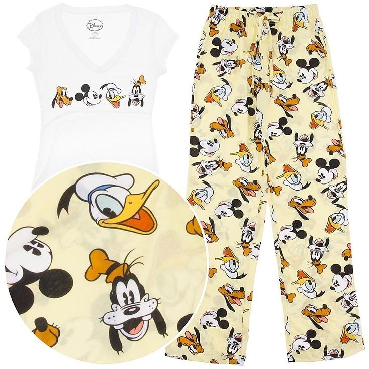 Amazon.com: Disney Friends Pajamas for Women L: Clothing