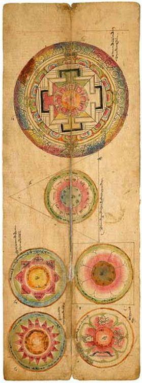ancient mandalas / Sacred Geometry <3