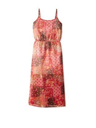 65% OFF Vintage Havana Girl's 7-16 Printed Maxi Dress (Patchwork)