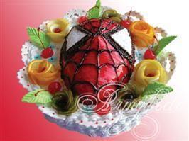 Детский торт Человек-паук № 13