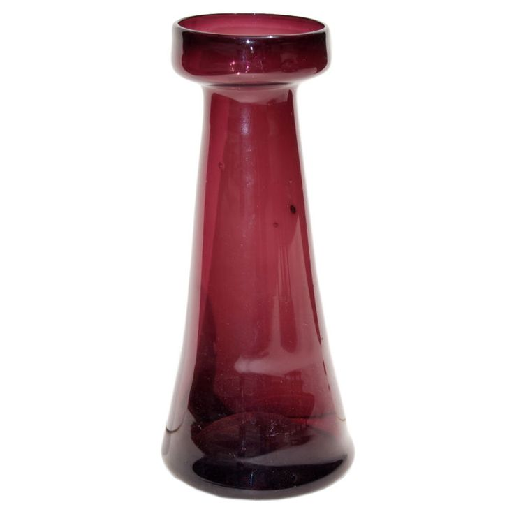 19th Century Hand Blown Hyacinth Vase   From a unique collection of antique and modern vases at http://www.1stdibs.com/furniture/dining-entertaining/vases/