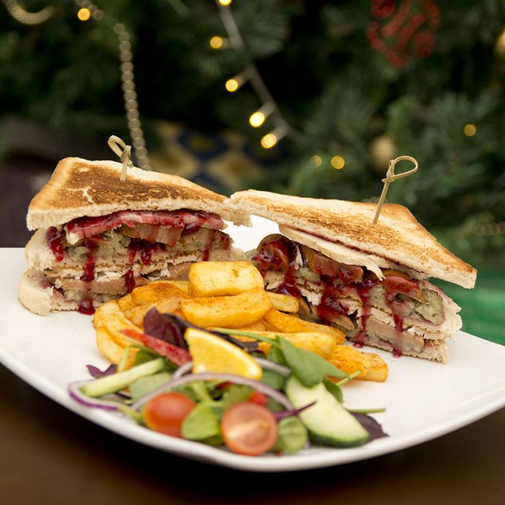 Christmas sandwich just £8.25 in Alberts!