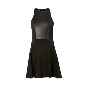 Contrast Front Knit Dress - Dresses - Her - Witchery! Perfect LBD with great shape!