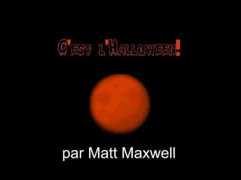 C'est l'Halloween - great French song for my Gr 1s by Matt Maxwell #Frimm #langchat #frenchteacher