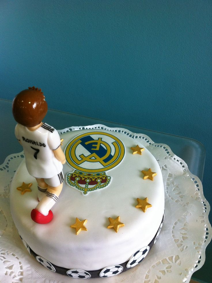 Torta Real Madrid/Ronaldo