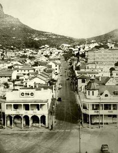 Kloof street,1942