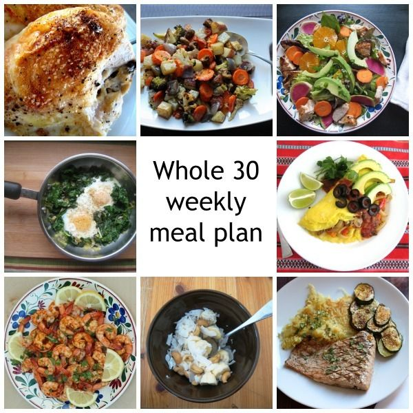 Looking for a meal plan for the week that's Whole 30 compatible and pretty darn delicious? This would be it!  Whole 30 Meal Plan for the Week http://goodcheapeats.com/2015/02/whole-30-meal-plan-for-the-week/