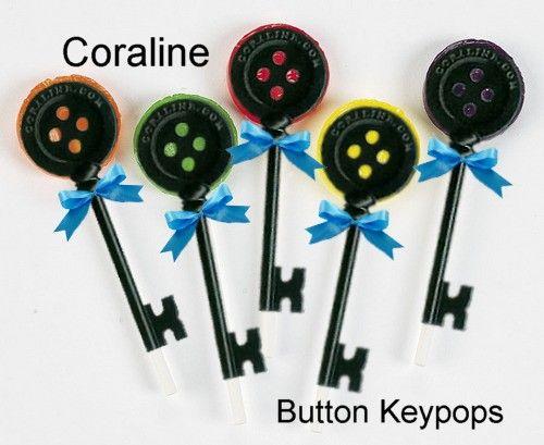 Coraline Button Key Pops
