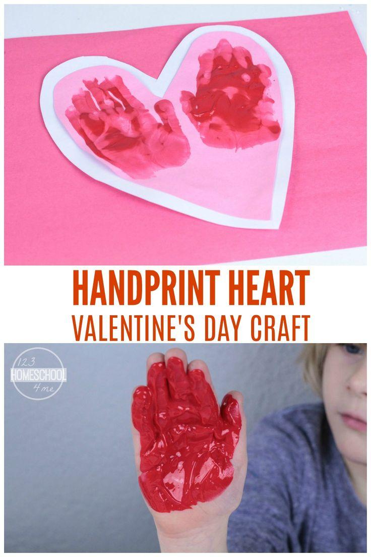 hand hearts craft - 427×640