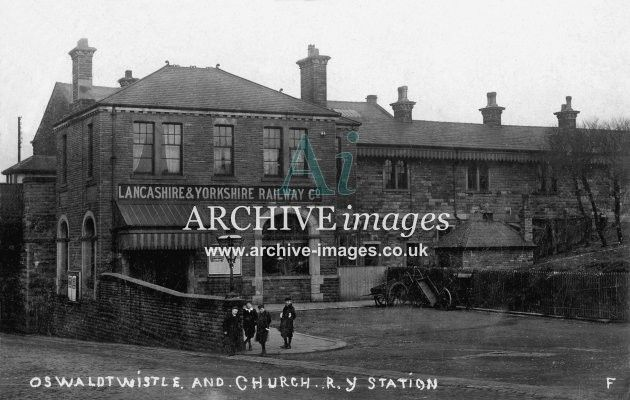 church and oswaldtwistle train station - Google Search